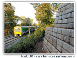 Redi-Rock for Rail